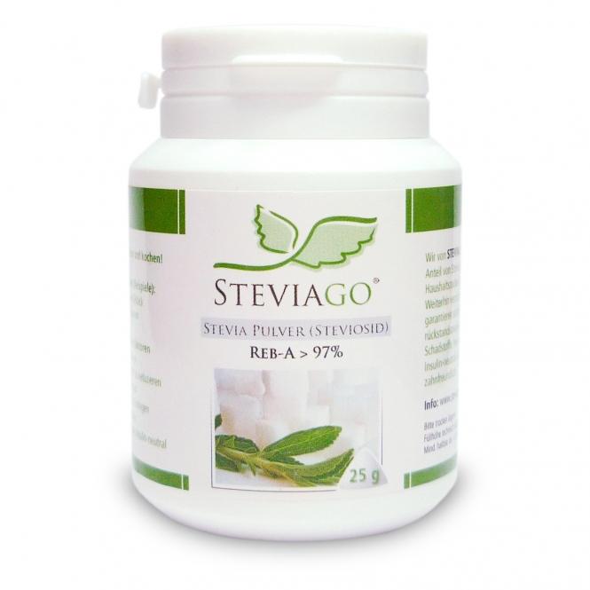 Stevia Pulver (Reb-A > 97%) 25g