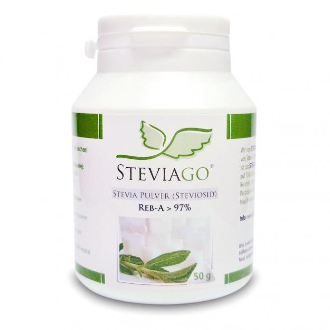 Stevia Pulver (Reb-A > 97%) 50g